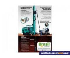Brasil Fundações Hélice Contínua