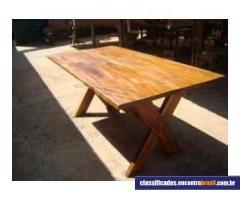 Vendo Mesa rustica para churrasqueira