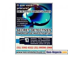 Detetives, Porto Alegre, investigador privado, Secret Detectives