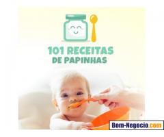 Livro 101 receitas de papinhas