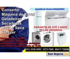 Conserto de Maquina de Lavar e Geladeira 3238-2962