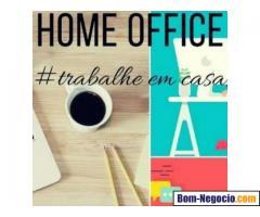 Trabalhe em casa como digitador e divulgador