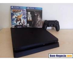 Vendo PS4 novo