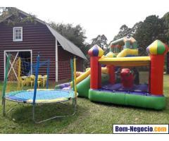 kids festas locação de brinquedos e barracas de alimentos
