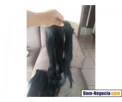 Faixa de cabelo 100% humano