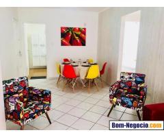 Apartamento/Flat – Mobiliado para estadia temporária – estilo Apart Hotel