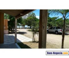 Casa de frente pra lagoa / Praia de Arambaré- RS