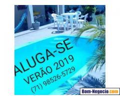 Casa 3/4 c/piscina na ilha de Vera Cruz, Itaparica