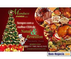 Encomenda de Ceias de Natal Delivery em Brasilia DF