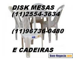 Aluguel de mesas e cadeiras Guaianases, Cohab 2 e região