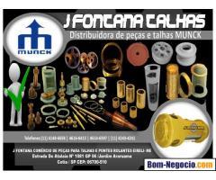 Manutenção - Reforma - Reposição de peças  -  Talha MUNCK
