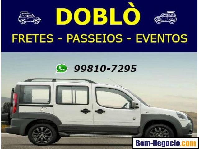 Doblo para Passeios, Turismo, Festas e Eventos (Ac. cartões)