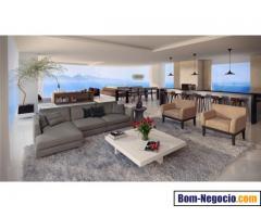 Apartamento com vista para o mar e montanha - Balneário Camboriú