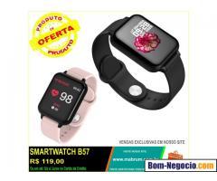 Smartwatch B57 a prova d´água (Entrega Grátis)