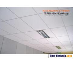 Divisórias Drywall em Guarulhos eucatex forros pvc isopor vidro madeira divisoria para escritório