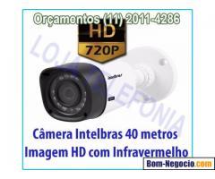 Instalação de Cameras de Segurança Intelbras Digital