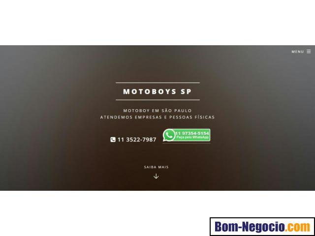 Motoboy em Sao Paulo