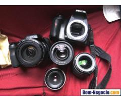 Combo de Câmeras e Lentes