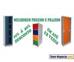Móveis de aço cinza ou coloridos em promoção em belo Horizonte