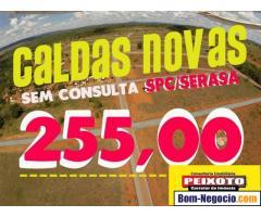 loteamento em caldas novas BARATO parcelado na promissória