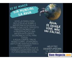 22 de março dia mundial da àgua