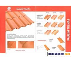 Telhas cerâmica laranjal em SP - Jer Alves