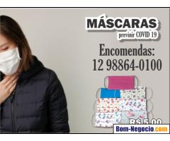 Máscaras para prevenir covid-19