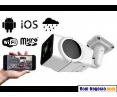 Camera Ip Externa - Visão Noturna 360º Graus Wifi Hd 960p