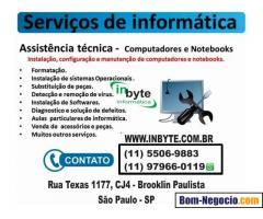 Suporte Tecnico Informatica - Remoto e Presencial SP
