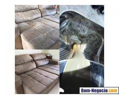 Higienização e impermeabilização de sofá,colchões e tapetes