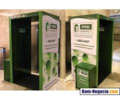 Total Desinfect   Venda e Locação de Cabine de Higienização e Serviços de Descontaminação