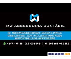 Contador / Escritório de Contabilidade em Dourados - MW Assessoria Contábil