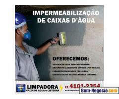 Impermeabilização de Caixas D'Água e Cisternas