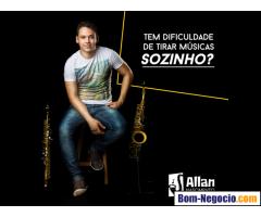 Professor particular de saxofone