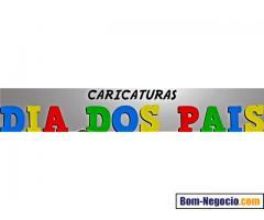 CARICATURAS E CHARGE, PRESENTEIE SEU PAI COM AMOR E BOM HUMOR, COM UMA CARICATURA !!