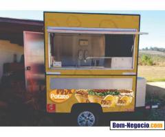 Food Truck Trailer Batata Recheada