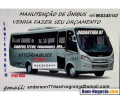 Manutenção espacializada em ônibus
