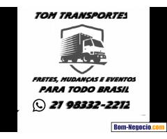 MUDANÇAS TOM TRANSPORTES