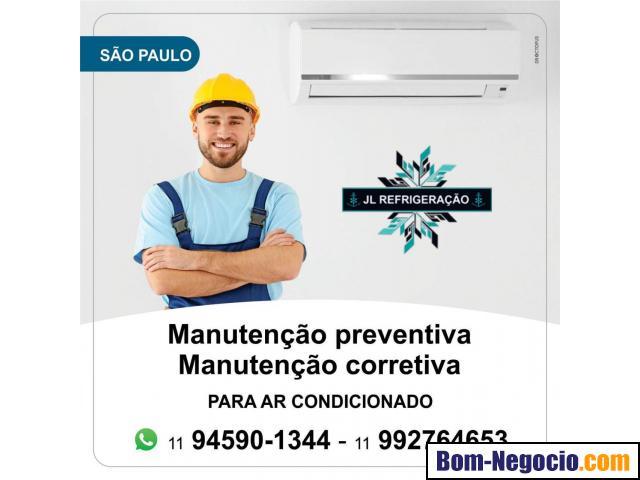 Manutenção e reparos de ar condicionado em São Paulo