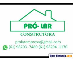 Pró-lar construtora: construção, reforma e pintura
