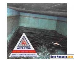 Limpeza de Caixas D'Água e Higienização em Belo Horizonte