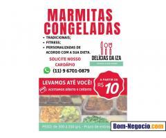 MARMITAS CONGELADAS.