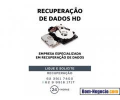 RECUPERAÇÃO DE ARQUIVOS HD GOIANIA GOIAS
