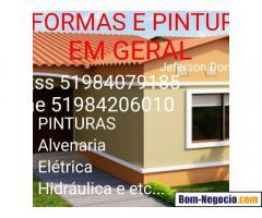 REFORMAS E PINTURAS EM GERAL