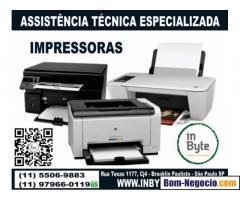 Assistencia Tecnica impressoras - Brooklin, Itaim, Vila Olimpia, Morumbi, Moema e Campo Belo