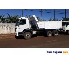 Caminhão caçamba modelo 2831