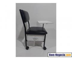 Cadeira manicure cirandinha preta