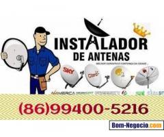 Técnico instalação em antenas sky TV claro oitv outros