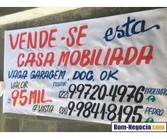 vende-se casa próximo praia santa clara - São Francisco de Itabapoana/RJ.