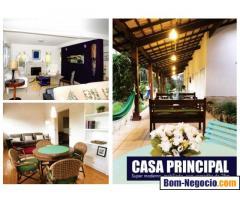 Chácara com casa triplex no Condominio Cinco Lagos Mairipora SP